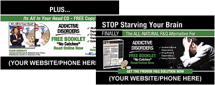 Addictive Disorders Business Cards
