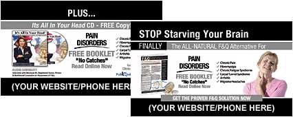 Pain Disorders Business Cards