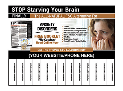Anxiety Disorders Pull-Tab Flyers