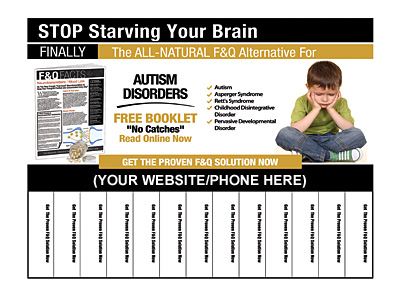 Autism Disorders Pull-Tab Flyers