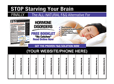 Hormone Disorders Pull-Tab Flyers