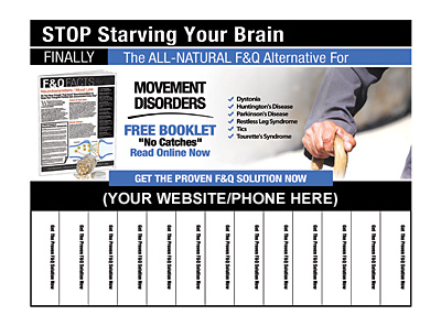 Movement Disorders Pull-Tab Flyers