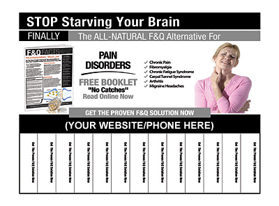 Pain Disorders Pull-Tab Flyers